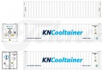 Tekno 74897 40ft. reefer container KN Cooltrainer 1:50