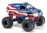 Busch 44657 Dodge Ramvan Monster Truck Stars&Stripes 1:87