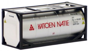 AWM 491043 Katoen Natie, 20ft. Tankcontainer