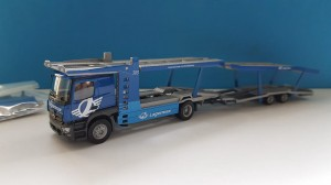 Herpa 936057 Mercedes-Benz Actros Classicspace Autotransporter Lagermax (A) 1:87