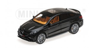 Minichamps 437034311 BRABUS 850 Auf Basis Mercedes-Benz GLE 63 S – 2016 – Black Metallic 1:43
