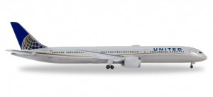 Herpa 533041 United Airlines Boeing 787-10 Dreamliner