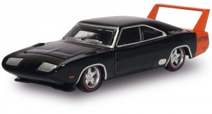Busch 201129450 Dodge Charger Daytona czarny (Oxford Model) 1:87 H0