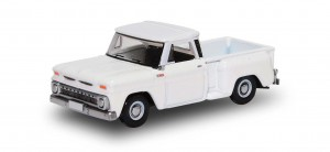 Busch 201130753 Chevrolet Stepside Pick Up biały (Oxford Model) 1:87 H0
