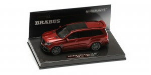 Minichamps 437037362 Brabus 850 Widestar XL Based on Mercedes-AMG GLS 63 2017 (red metallic) 1:43