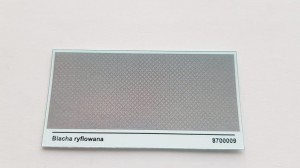 Kalkomania - Decals Blacha ryflowana 8700009 1:87