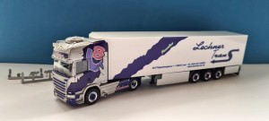 Herpa 941266 Scania R TL Lechner Trans / Pink Lady (I)  1:87