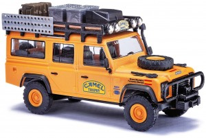 Busch 50378 Land Rover Defender Camel Trophy Spain 1:87