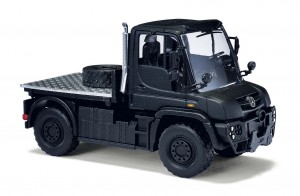 Busch 50929 Mercedes Unimog U 430 Black Edition 1:87