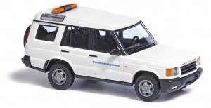 Busch 51927 Land Rover Discovery, THW (DK) 1:87