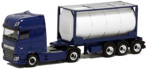 Herpa DAF XF 106 Euro 20ft. Tankcontainer 1:87