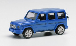 Herpa 430623-003 	Mercedes-Benz G-Klasse, south sea blue metallic 1:87