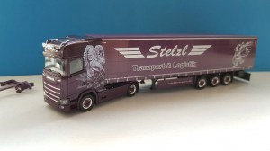 Herpa 932073 Scania CS HD Stelzl 1:87 H0