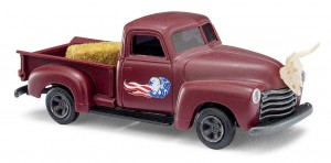 Busch 48237 Chevrolet Pick-up Ranch-Truck 1:87