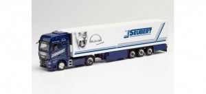 Herpa 312714 	MAN TGX GX Seubert / Blue Lady 2020 1:87