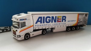 Herpa 933216 Scania CR HD Aigner  (A) 1:87 H0
